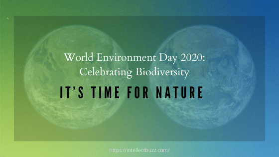 WED 2020: Celebrating Biodiversity- It's Time for Nature